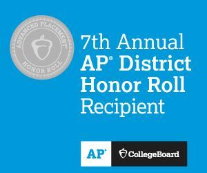 KASD Placed on the College Board's 7th Annual AP® District Honor Roll for Significant Gains in Student Access and Success