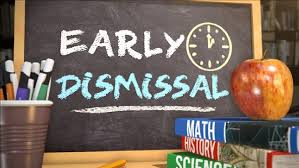 Scheduled Early Dismissal November 20 through November 22 - Click here for more information