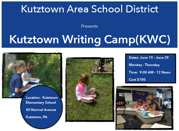 KASD Summer Writing Camp