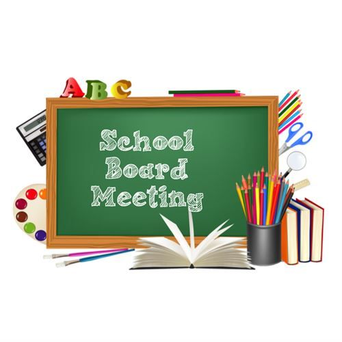 2018 School Board and Committee Meeting Schedule