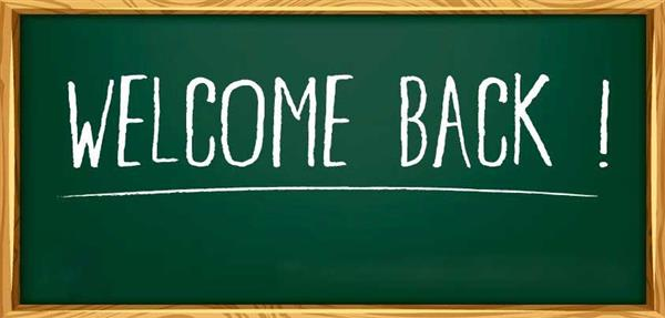 Dr. Fiore's Welcome Back to School Letter
